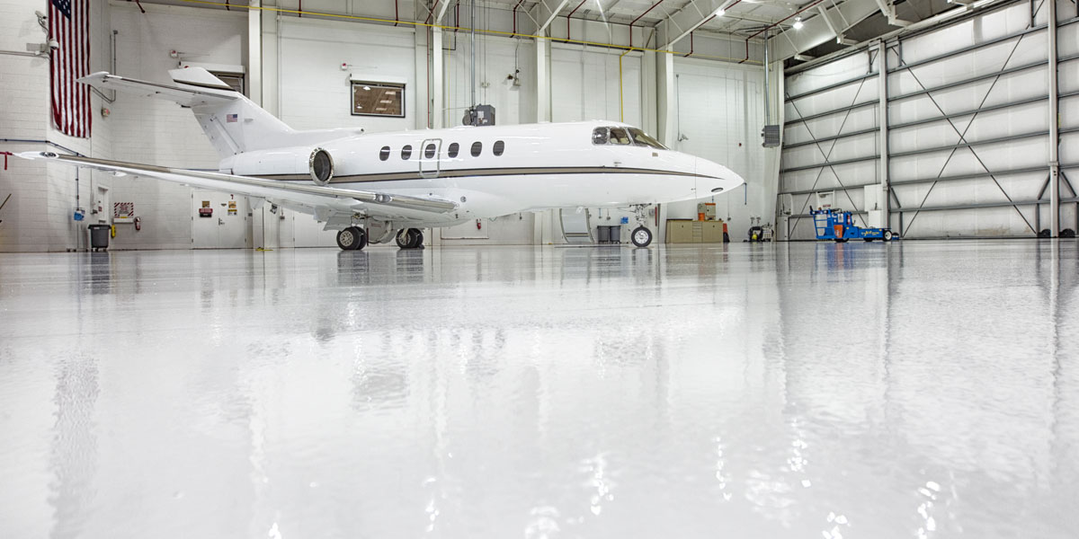 stonhard flooring for aerospace industry